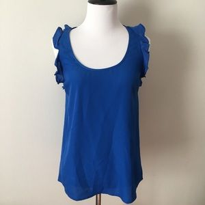 Pins and Needles Anthropologie tank top XS